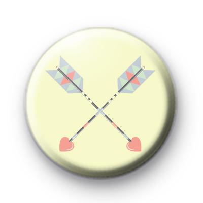 Love Arrows Button Badges