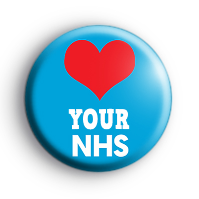 Love Your NHS Badge