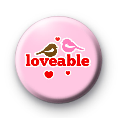 Loveable Birdy Button Bsdge