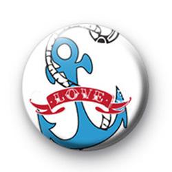 Love Anchor Badge