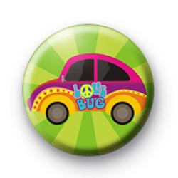 Love Bug Peace Car Badges