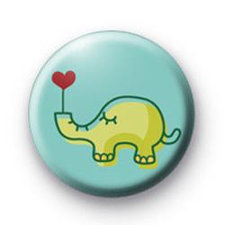 Elephant Love Button Badges
