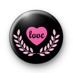 Love Pink 2 Badge