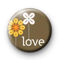 Love Flowers Badges