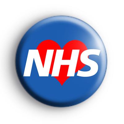 Love Your NHS Logo Badge