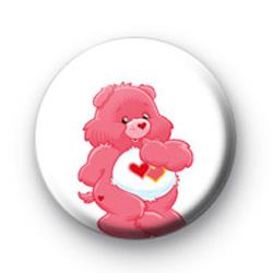 Luv a lot Care Bear badge
