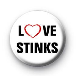 Love STINKS badges