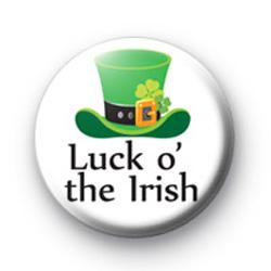 Luck o' The Irish Badge