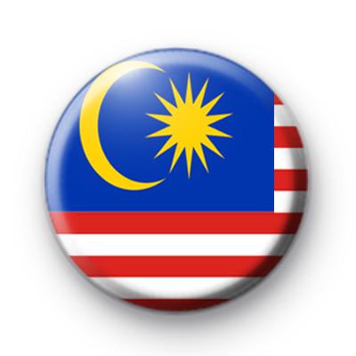 Malaysian Flag Badge