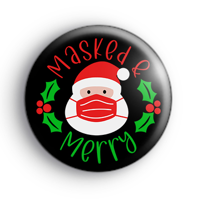 Masked and Merry Christmas 2020 Badge