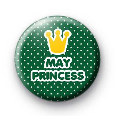 May Princess Birthday Badges