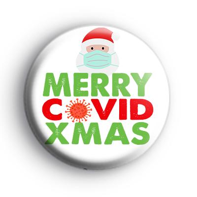 Merry Christmas 2020 Santa Badge