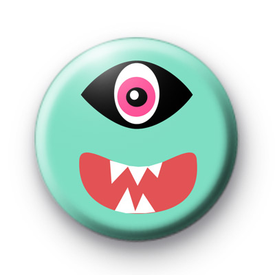 Mint Green Monster Badge