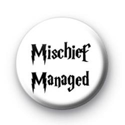 Mischief Managed Badge