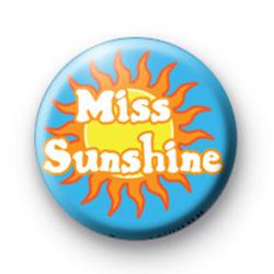 Miss Sunshine Badge