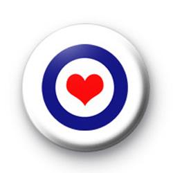 Mod Heart badges