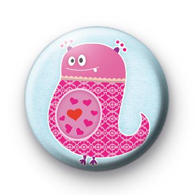 Monster Love Eater Button Badges