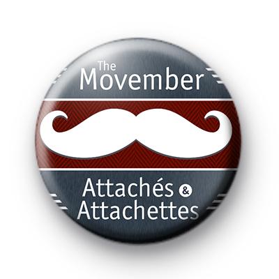 Movember Attaches 2014 badge