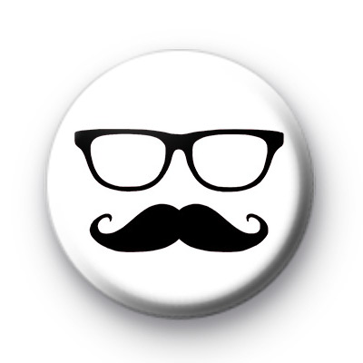 Movember Moustache Geek Badge