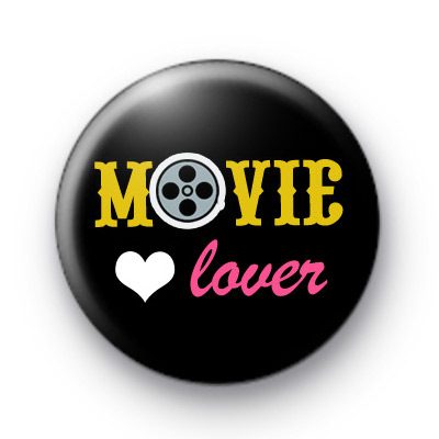 Movie Lover Pin Button Badges