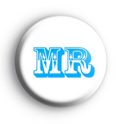 Mr Title Button Badges
