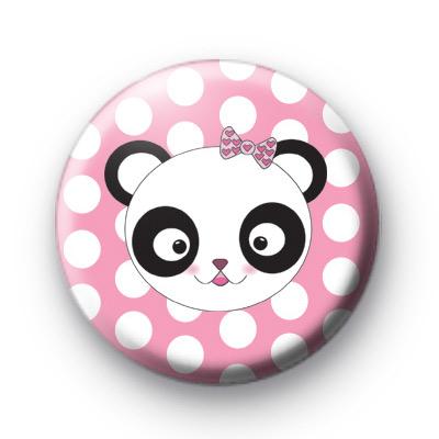 Mrs Panda Bear Badges