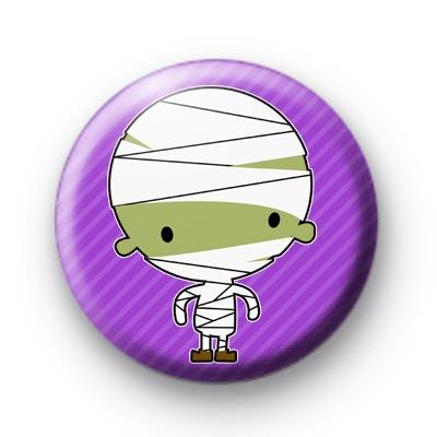 Mummy Boy Halloween Badges