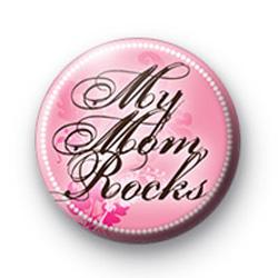 My Mum Rocks Badge