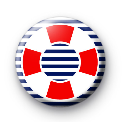 Nautical Sailor Button Badge