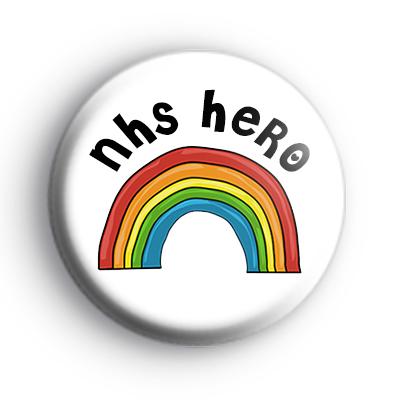Rainbow NHS Hero Badge