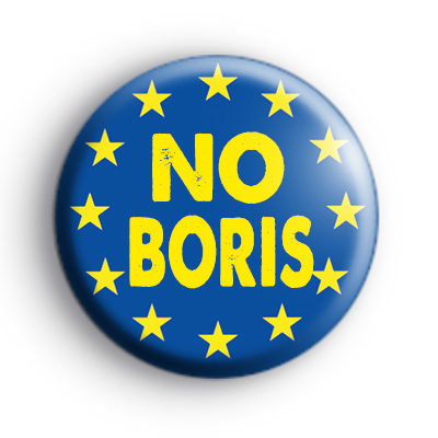 No Boris Pro EU Badge