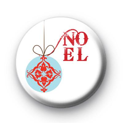 Noel Christmas Bauble Badges