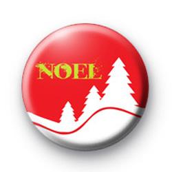 Noel Button Badge