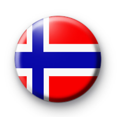 Norway Norwegian Flag badges