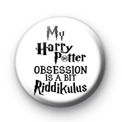 Harry Potter Obsession Badge