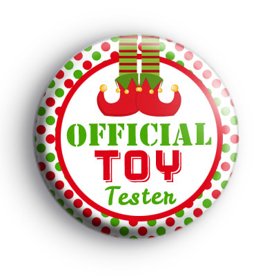 Official TOY Tester Badge