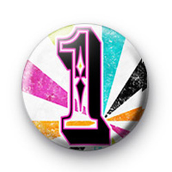 Number One 1 badges