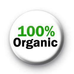 100% Organic badges