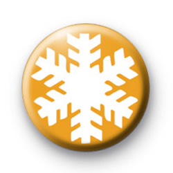Gold Snowflake Badges