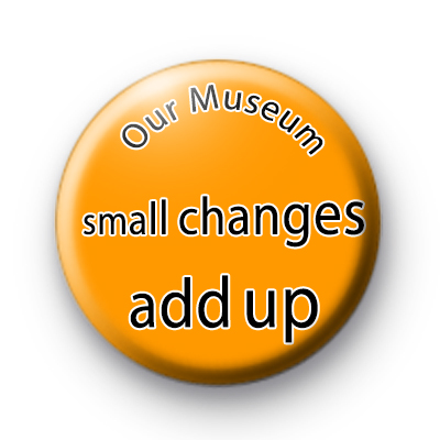 Our Museum Small Changes Add Up Badges