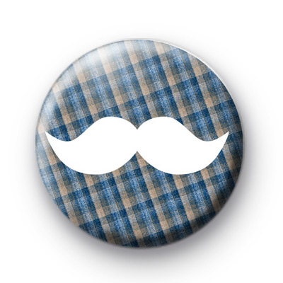 Movember Moustache Badge