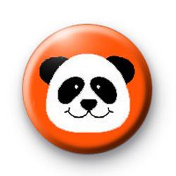 Panda Badge Orange