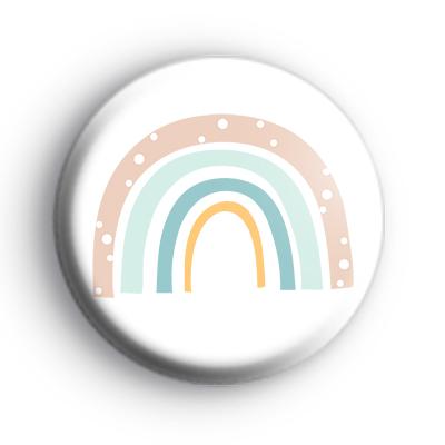 Pastel Positive Rainbow Badge
