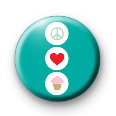 Peace Love Fairy Cakes