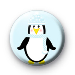 Christmas Penguin badges