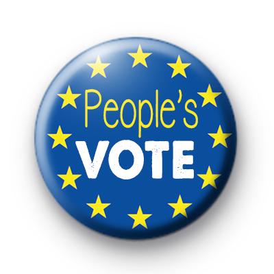People's Vote EU Flag Badge