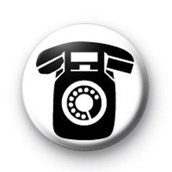 Retro Telephone Badge