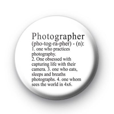 Photographer Button Badges