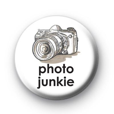 Photo Junkie Button Badges