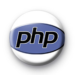 PHP logo Badges